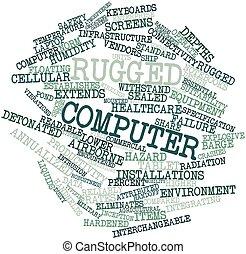 Una computadora rota