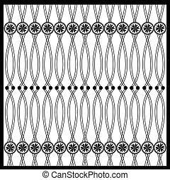 Una costura oriental oriental y oriental