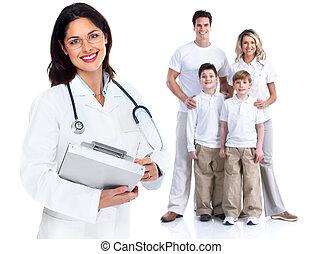 Una doctora de familia. Salud.