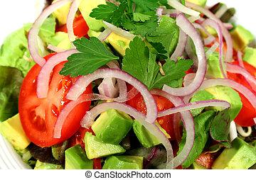 Una ensalada deliciosa