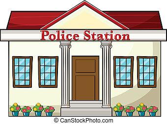 Una estación de policía