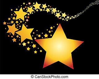Una estrella fugaz