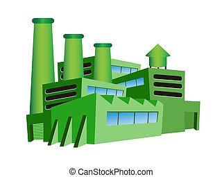Una fábrica verde
