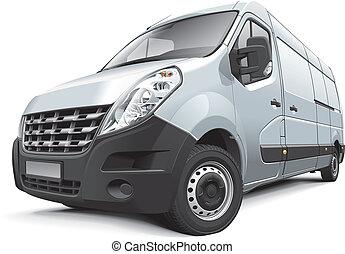 Una furgoneta mediana francesa