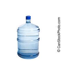 Una gran botella de agua