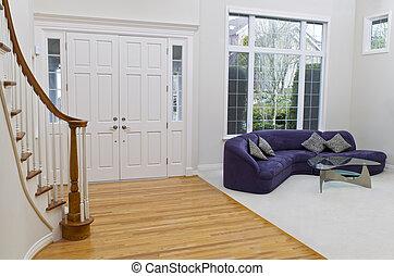 Una gran sala de estar