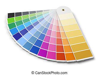 Una guía de colores