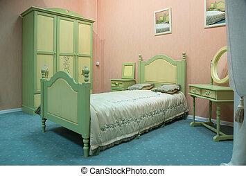 Una habitación a la antigua