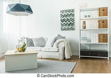 Una habitación cómoda