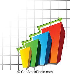 Una hoja de gráficos
