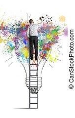Una idea de negocios creativa