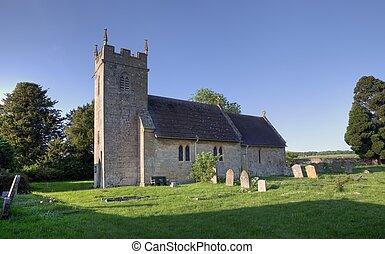 Una iglesia pequeña