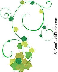 Una ilustración de viña