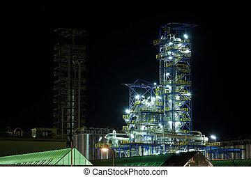 Una instalación de producción química