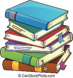 Una lista de libros, imagen número uno