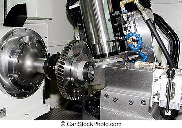 Una máquina de Cnc
