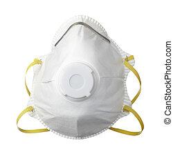 Una máscara protectora de la salud