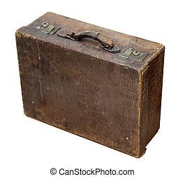 Una maleta de viaje antigua