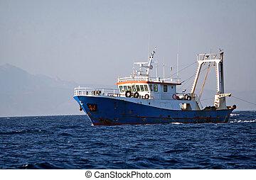 Una nave Fisher