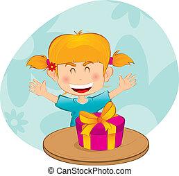 Una niña con un don