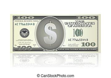 Una nota de dólar