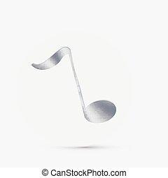 Una nota musical.
