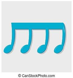 Una nota musical