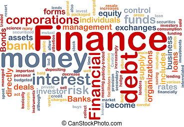 Una nube financiera