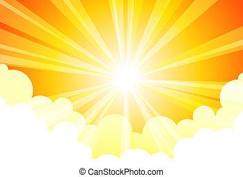 Una nube solar