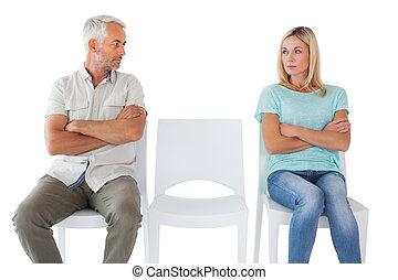 Una pareja infeliz no se habla