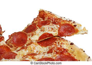 Una pizza de pepperoni