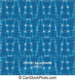 Una placa de tártaro azul