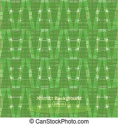 Una placa de tártaro verde