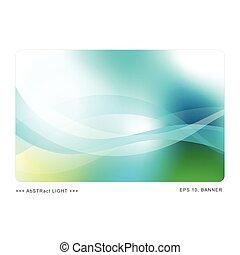 Una plantilla abstracta con espacio de copia