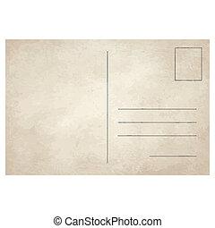 Una postal antigua