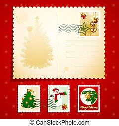 Una postal de Navidad