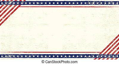 Una postal grunge americana