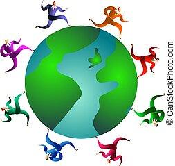 Una raza global