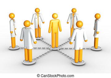 Una red de asistencia sanitaria