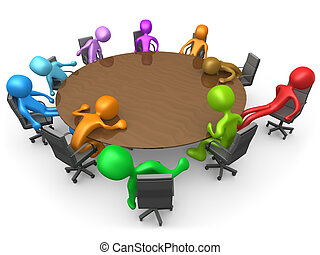 Una reunión agotadora