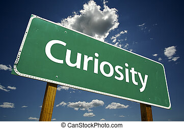 Una señal de curiosidad