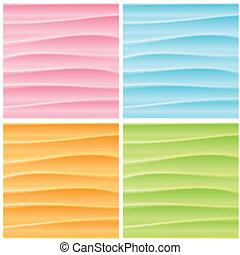 Una serie de orígenes abstractos. Graficos vectores