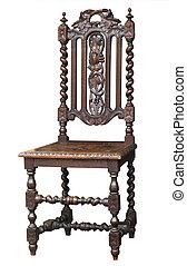 Una silla antigua