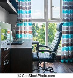 Una simple oficina en casa