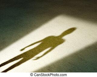 Una sombra misteriosa