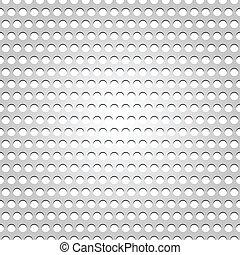 Una superficie de metal sin sentido