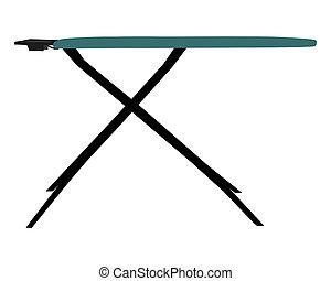Una tabla de hierro