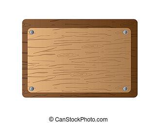 Una tabla de madera