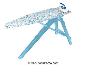 Una tabla de planchar