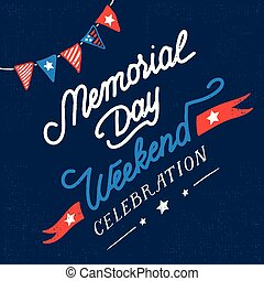 Una tarjeta de celebración del fin de semana